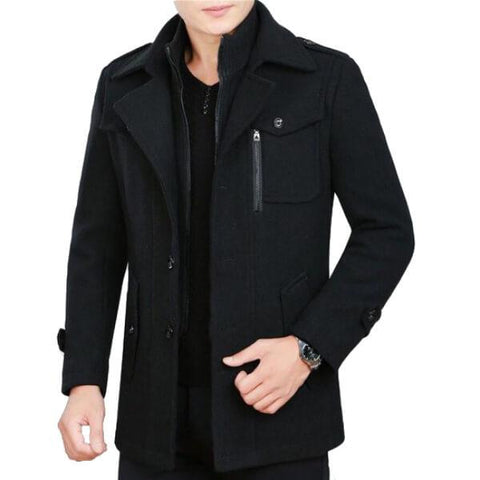Winter James Bond Coat - Paksa Pk
