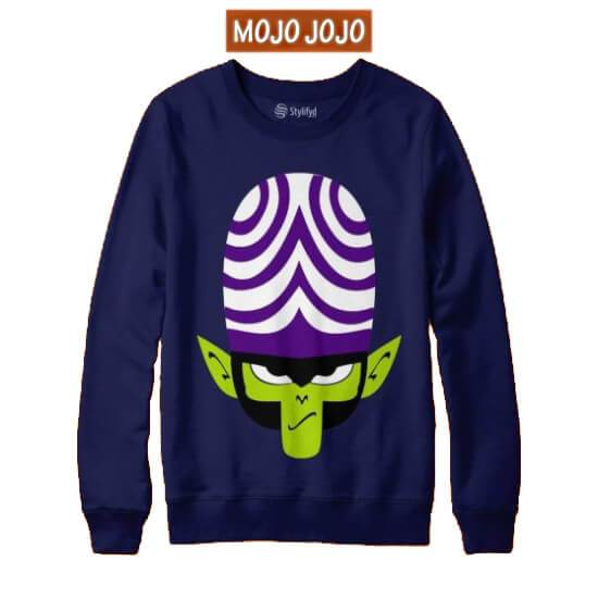Mojo Jojo Printed Sweatshirt For Men - Paksa Pk