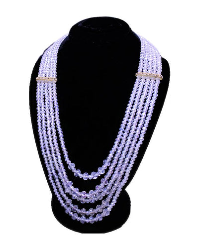KC Crystal Beeds Rani Mala Necklace for Women - Paksa Pk