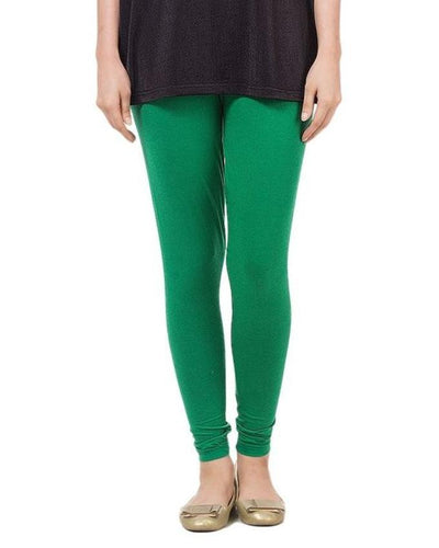 Green Lycra Tights For Women - Paksa Pk