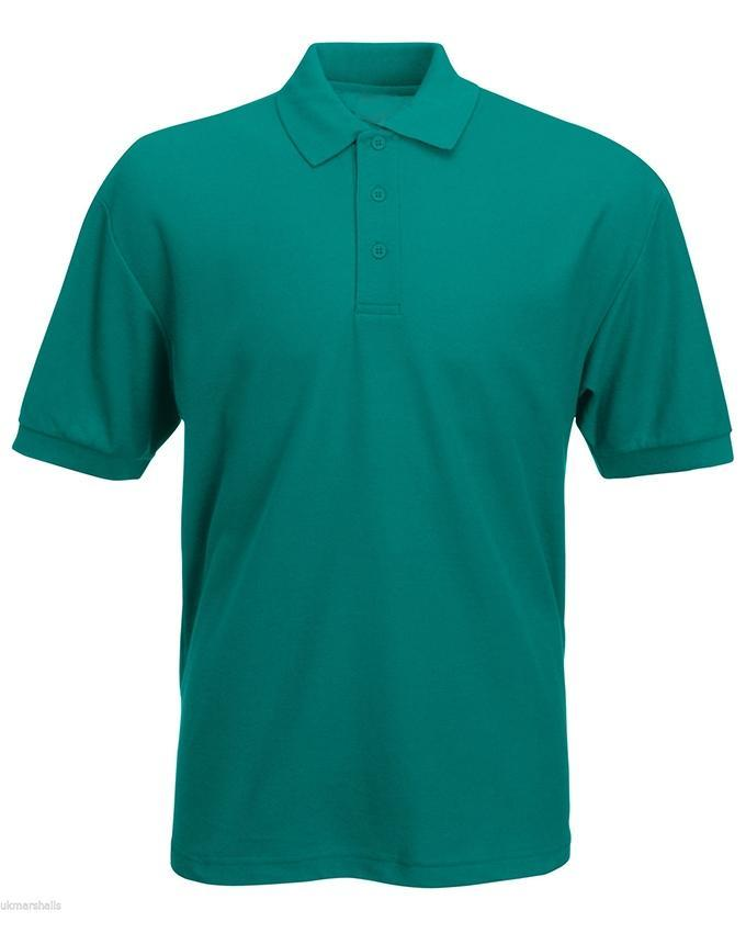 Sea Green Plain Polo T-Shirt For Men - Paksa Pk