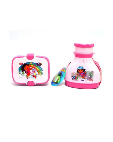 Dora Baby Water Bottle & Lunch Box Set - Paksa Pk