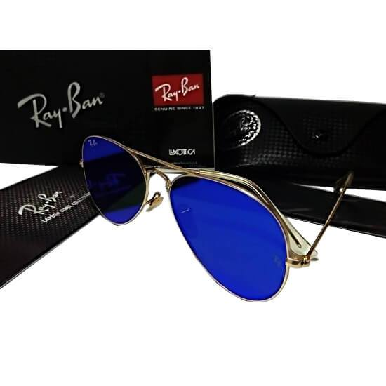 Dashing Style With Royal Blue Sun Glasses For Men - Paksa Pk