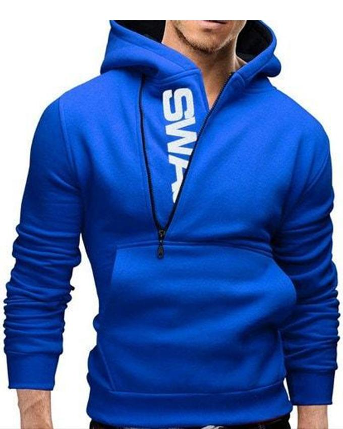 Royal Blue Swag Hoodie For Men - Paksa Pk