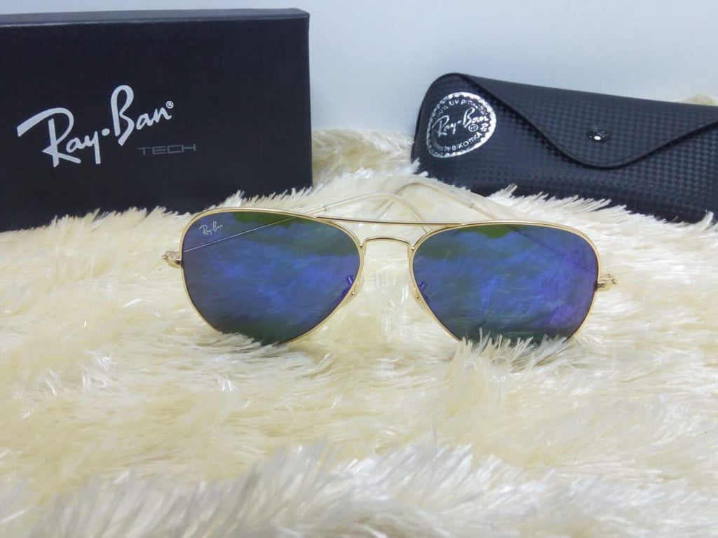 Blue Shaded Lens Sunglasses For Men - Paksa Pk