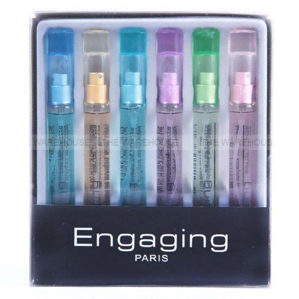 Pack of 6 Engaging Paris Perfumes - Paksa Pk
