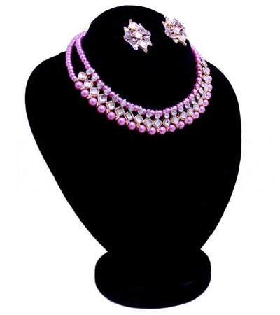 Jewellery Set for Women-Pink - Paksa Pk