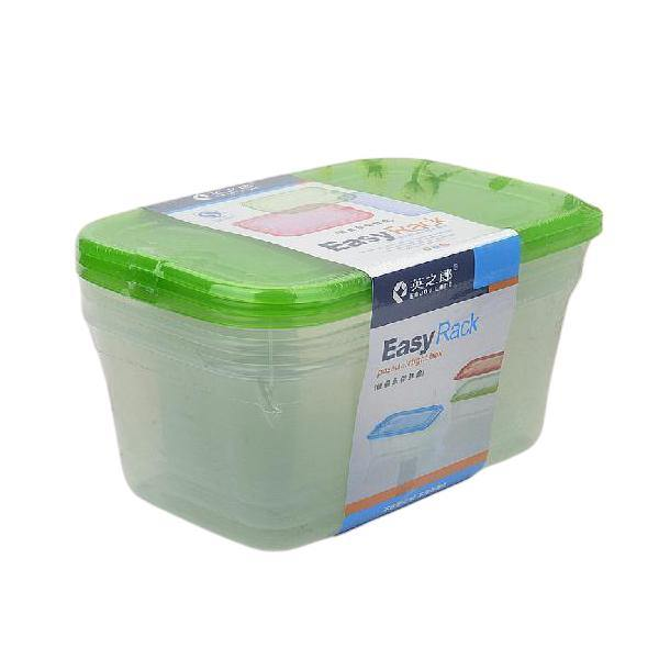 Food Storage Air Tight Box Pack of 3-Large