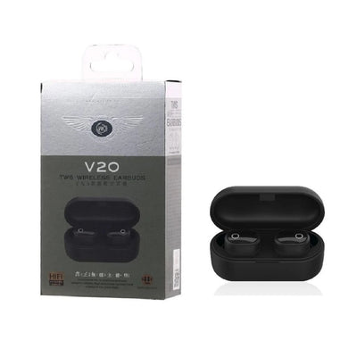 Remax Wk Tws V20 Airdots Blutooth With Charging Dock - Paksa Pk