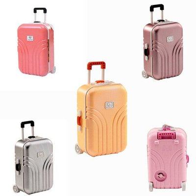 Trolley Travel Bag Music Jewelry Box - Paksa Pk