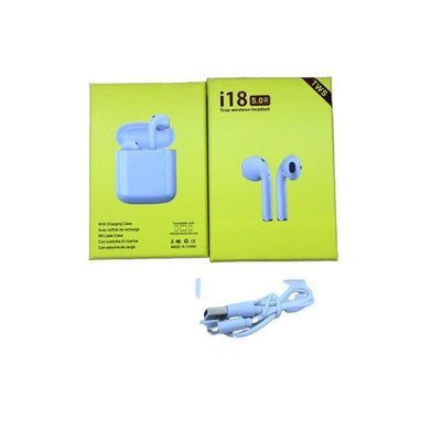 Twin I18 With Pop Up Window Wireless Earphone - Paksa Pk