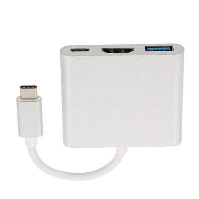 Type C 3.1 To Otg-Hdmi-Usb 3.0 - Paksa Pk
