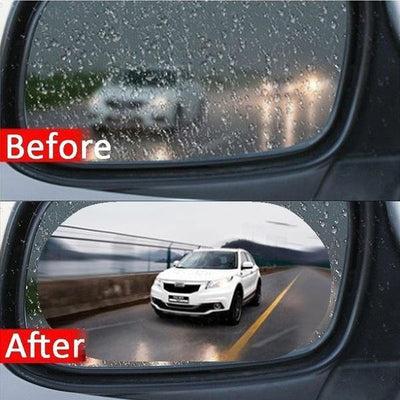 Premium Quality Rainproof Anti-Fog View Mirror For Car - Paksa Pk