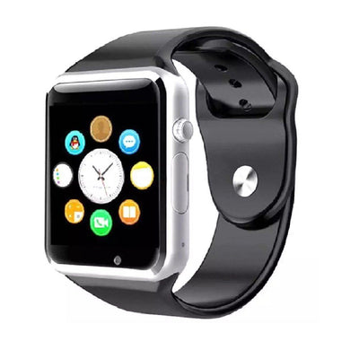 W08 Smart Watch Sim Supported Silver - Paksa Pk