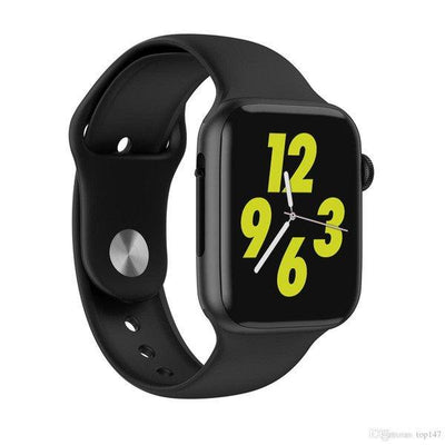 W34 Smart Watch Black Bluetooth Call Full Touch Screen for Android & IOS - Paksa Pk