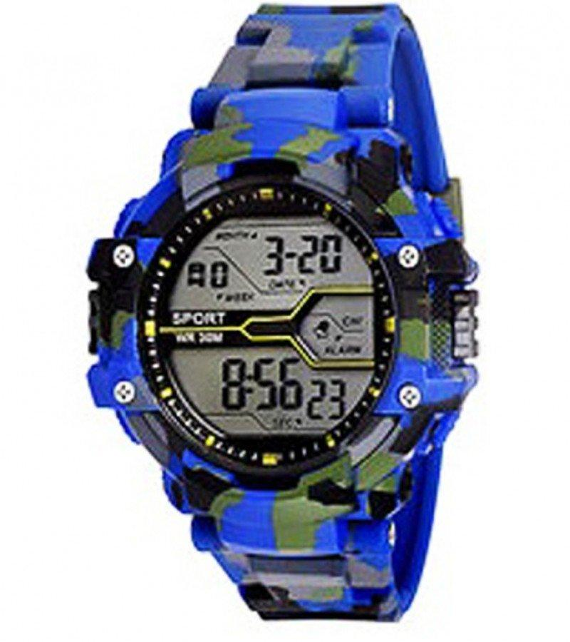 Rubber Strap Digital Watch - Paksa Pk