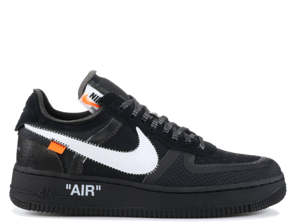 NIKE OFF WHITE AIR FORCE 1 BLACK