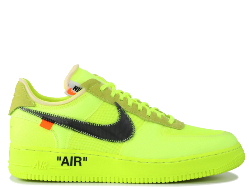 NIKE OFF WHITE AIR FORCE 1 VOLT