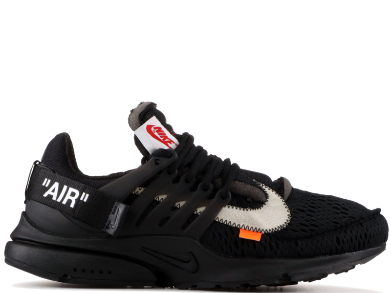 NIKE OFF WHITE PRESTO BLACK