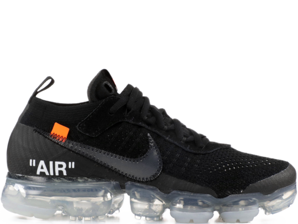 NIKE OFF WHITE VAPORMAX BLACK