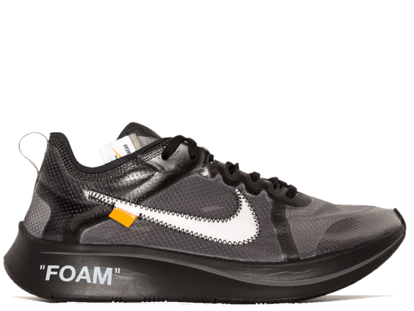 NIKE OFF WHITE ZOOMFLY BLACK