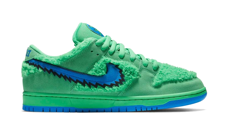 "Nike SB Dunk Low ""Grateful Dead"" Green"