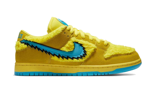 "Nike SB Dunk Low ""Grateful Dead"" Yellow"