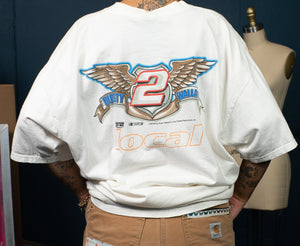 1 of 1 Vintage Nascar Rusty Wallace Racing Tee