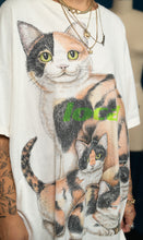 Load image into Gallery viewer, 1 of 1 Vintage Cat Tee