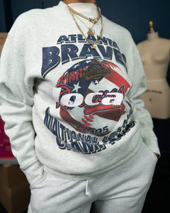 1 of 1 Vintage 1995 Atlanta Braves Sweatshirt