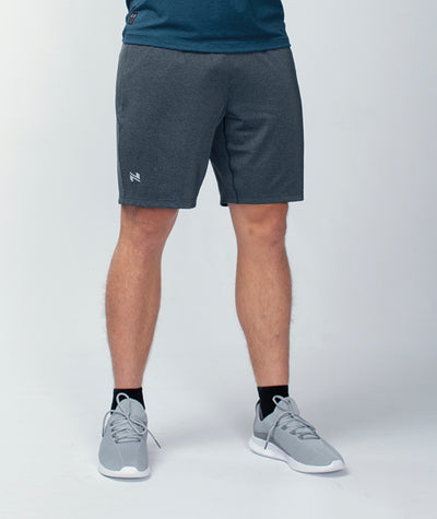 dark grey men-s-training-shorts