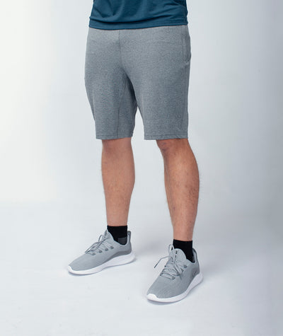 light grey men-s-training-shorts-slim-fit