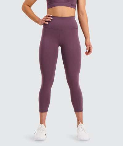7/8 training tights#berry