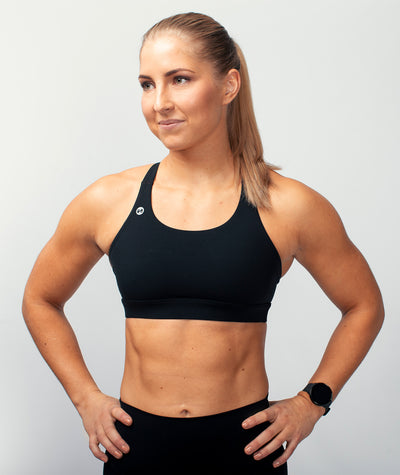 black performance-boost-sports-bra