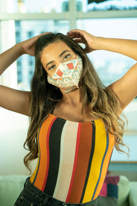 Tribal Pop - Neoprene Mask
