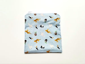 South American Animals Reusable Food Safe Pouch
