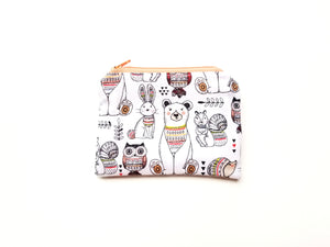 Boho Animals Reusable Food Safe Pouch