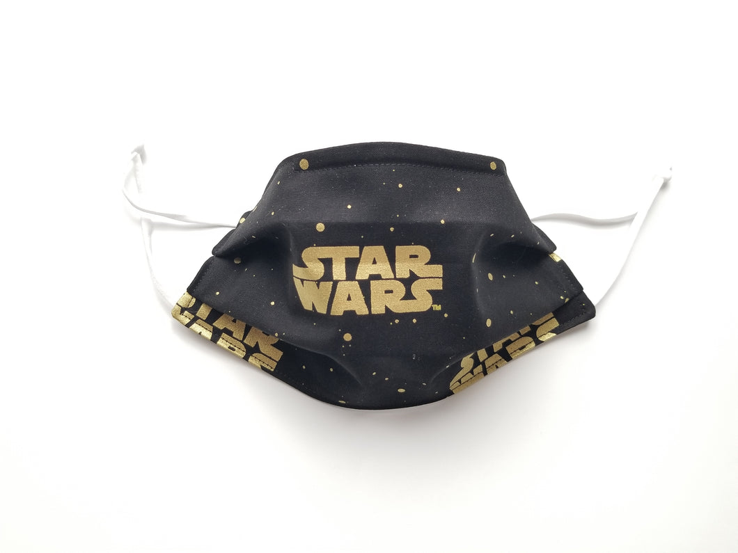 Star Wars Reusable Cotton Face Covering. [3-Layer │Nose Tab│Standard Size]