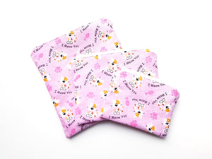 I Meow You Reusable Food Safe Pouch