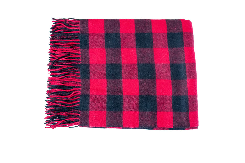Buffalo Check - Red (Throw)