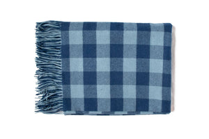 Buffalo Check - Blue (Throw)