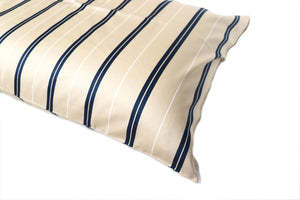 Additional Pillow Cases - Vertical Stripes-Cream (two per package)