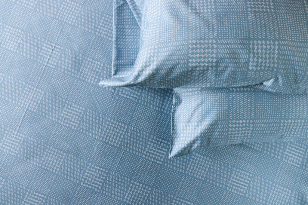 SHEET SET - MODERN GLEN PLAID