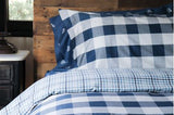 BUFFALO CHECK (NAVY/WHITE) - DUVET COVER