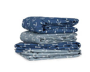 SHEET SET - ANCHORS BY DAVID HART (Percale Cotton)