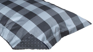 PILLOW SHAM - Buffalo Check (Charcoal/Black) (one per package)