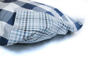 PILLOW SHAM - Buffalo Check (Navy/White) (one per package)