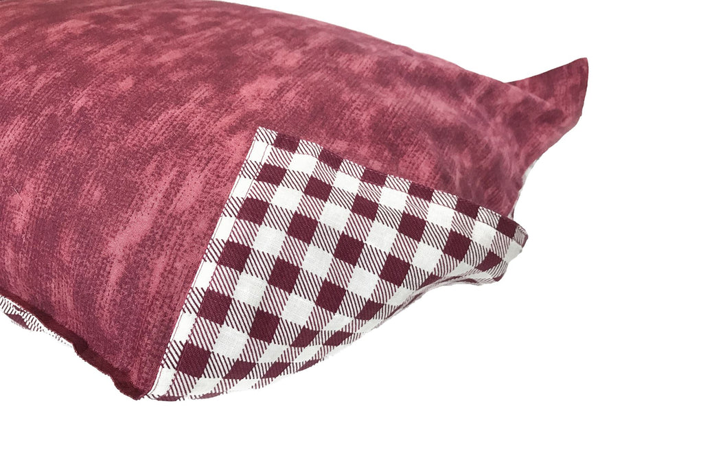 PILLOW SHAM - Concrete Burgundy (one per package)
