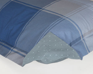 PILLOW SHAM - Go Plaid Blue (one per package)