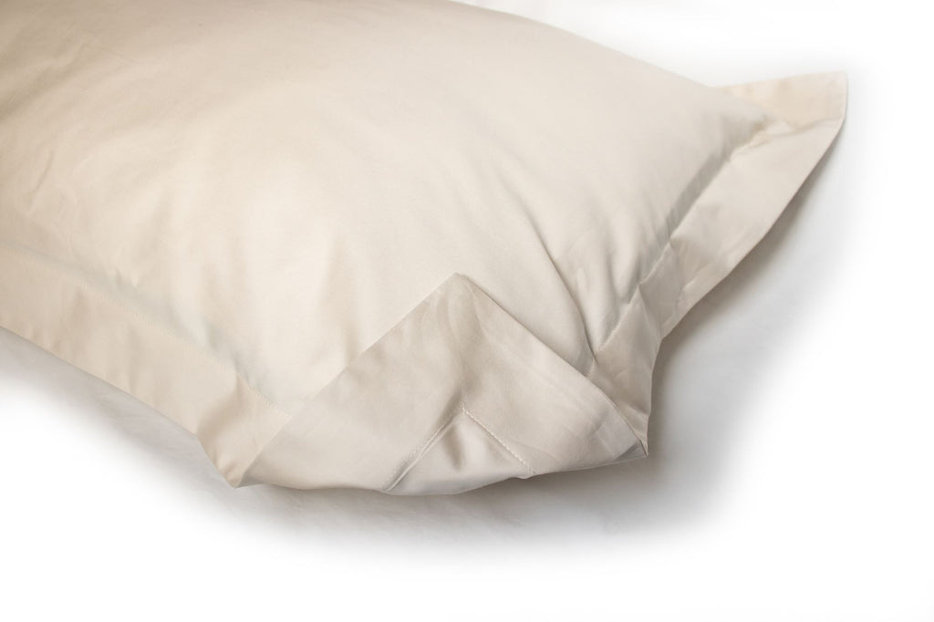 PILLOW SHAM - Solid Cream (one per package)